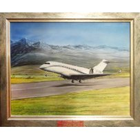 JIM CHANNELL 'Private jet'