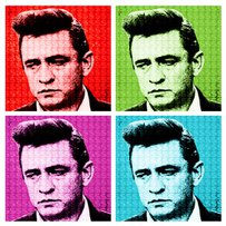 DOLLARSandART 'Johnny Cash'