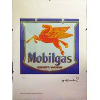 ANDY WARHOL 'Mobil gas'