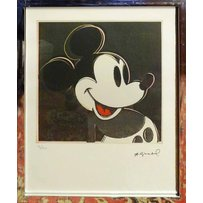 ANDY WARHOL 'Mickey Mouse'