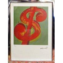ANDY WARHOL 'Dollar sign'