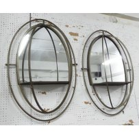 MIRRORED WALL NICHES