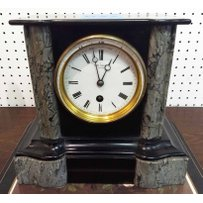 LATE VICTORIAN MANTEL TIMEPIECE