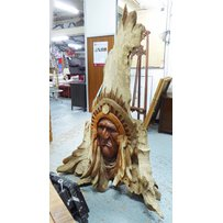 INDIAN CHIEF'S HEAD