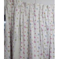 JANE CHURCHILL FLUTER BY FABRIC CURTAINS