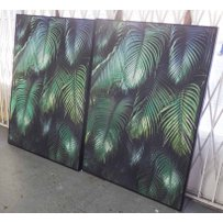 PALM LEAF DYPTICH