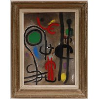JOAN MIRO 'Abstract'