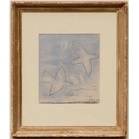 GEORGES BRAQUE 'Two birds'