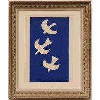 GEORGES BRAQUE 'Three birds'