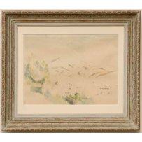 PAUL CEZANNE 'Des Sainte Victoire Gebirge'
