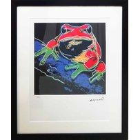 ANDY WARHOL 'Pine barrens tree frog'