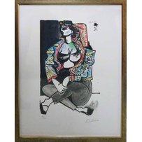 PABLO PICASSO 'Woman of Algiers'