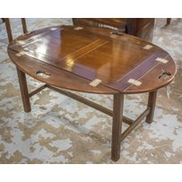 BUTLERS TRAY ON STAND