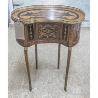 KIDNEY SHAPED COMMODE