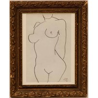 HENRI MATISSE 'Nude'