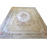 AUBUSSON NEEDLEPOINT CARPET