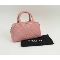 CHANEL BOWLING PINK BAG