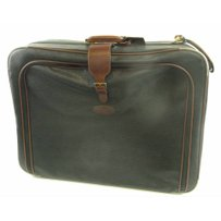 MULBERRY LARGE SCOTCHGRAIN ROLL-ALONG SUITCASE