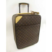 SMALL LOUIS VUITTON ROLL-ALONG MONOGRAM SUITCASE