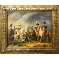 19TH CENTURY MANNER 'Napoleon meeting generals'