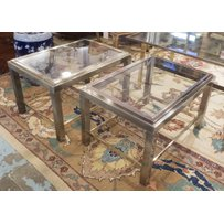 LOW OCCASIONAL LAMP TABLES