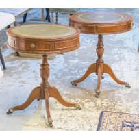 DRUM OCCASIONAL TABLES