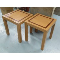 LAQUERSMITH SIDE TABLES