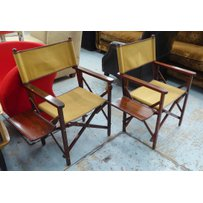 JAMES PURDEY & SONS FIELD CHAIRS