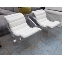 ATTRIBUTED TO ROSSI MOLINARY LOUNGE CHAIRS