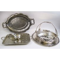 SILVER PLATED SERVING WARES