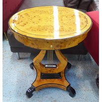 OVAL MUSIC TABLE