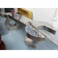 VICTORIA J HARMSWORTH SPANNER AND NUT LOW TABLE