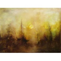 CHARLOTTE WALLIS 'Abstract landscape'