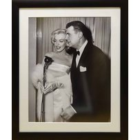 FRANK WORTH 'Marylin Monroe and Carl Reiner
