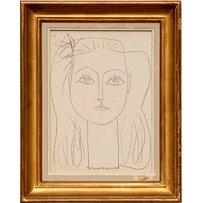 PABLO PICASSO 'Portrait De Femme'