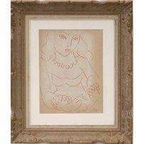 HENRI MATISSE 'Portrait D'Femme'