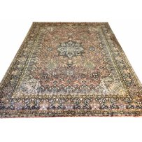 FINE PURE SILK TEHRAN DESIGN CARPET