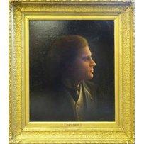 ALBERT MILLS 'Portrait of Wilhelm Backhous'