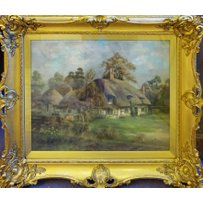 JAMES TAYLOR 'English country landscape'