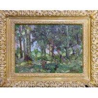 ATTRIBUTED TO NIKOLAI TARASIVICH MALYSHEV 'In the woods'