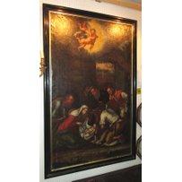 17th/18th CENTURY ITALIAN SCHOOL 'The nativity'