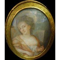 LATE 18th/EARLY 19th CENTURY SCHOOL 'Half length portraits of elegant ladies'