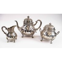 FRENCH SILVER TEA/COFFEE SERVICE