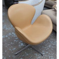 SWAN STYLE SWIVEL CHAIR