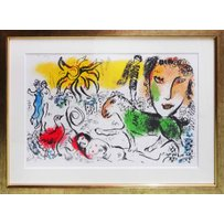 MARC CHAGALL 'Home coming'