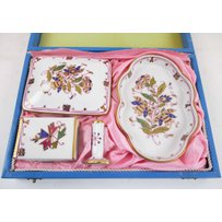 HEREND DRESSING TABLE SET
