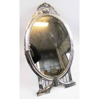 SILVER PLATED MIRROR
