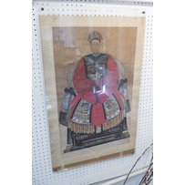 TWO CHINESE 18TH/19TH CENTURY ANCESTOR PORTRAITS