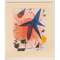 JOAN MIRO 'The Star'