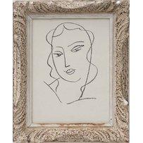 HENRI MATISSE 'Portrait De Femme'